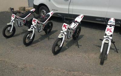 Les motos électriques sont là !